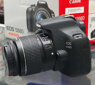 Jual Kamera DSLR Canon EOS 1200D Fullset di Malang