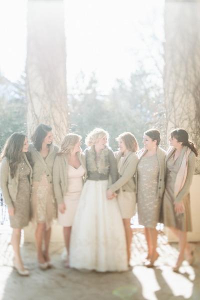 Mon mariage d 39 hiver les robes de demoiselles d 39 honneur - Etole mariage hiver ...