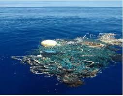 Plastic patch in Pacific Ocean