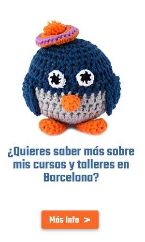 Cursos de ganchillo, amigurumi y craft en Barcelona por Migote Amigurumi