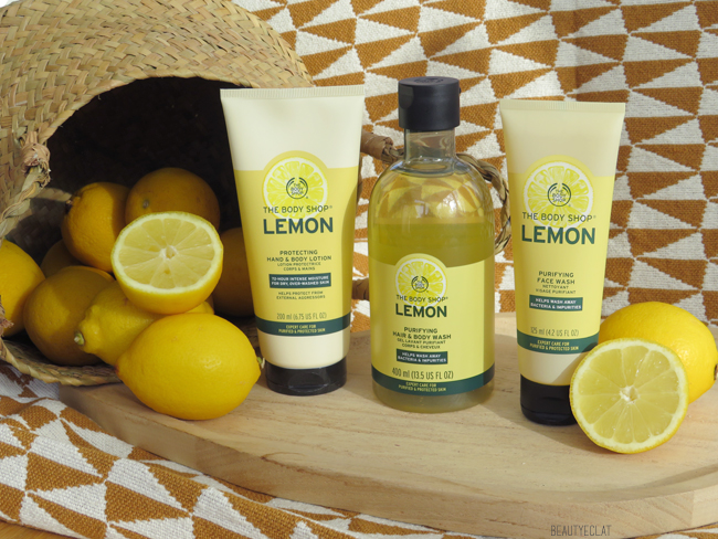 the body shop routine antibacterienne citron avis