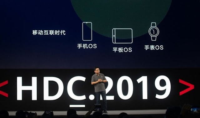 any device will be able to use the Harmony OS.