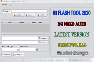 Xiaomi Mi Flash Tool 2020 (No Need Auth) Latest Version