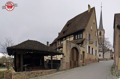 Mittelbergheim, Alsacia, Francia
