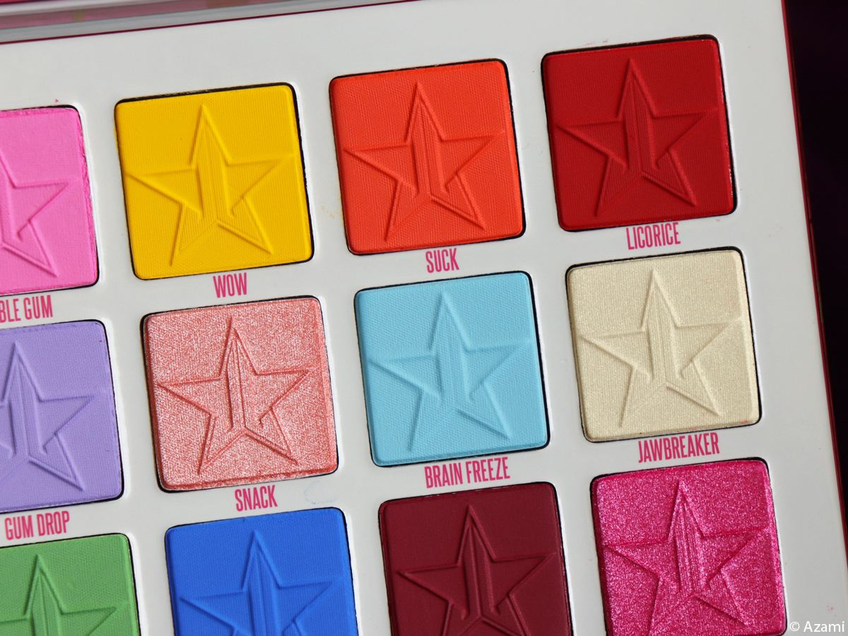 Jeffree Star Cosmetics - Jawbreaker Eyeshadow Palette 2019 Review & Swatches - Avis Paris London Makeup Artist & Beauty Blogger - YouTuber