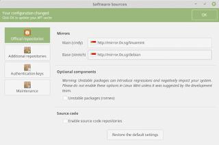 Cara Mengganti Repository Linux Mint Debian Edition Ke Mirror Alternatif