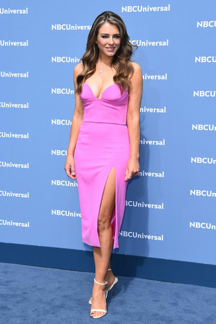 Actress, Model, @ Elizabeth Hurley - NBCUniversal Upfront Presentation in New York City