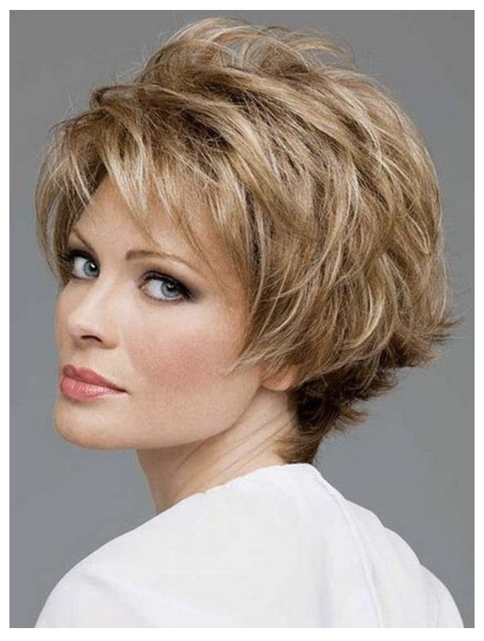 40 Hot Hairstyle for Older Women Over 50 - LatestHairstylePedia.com