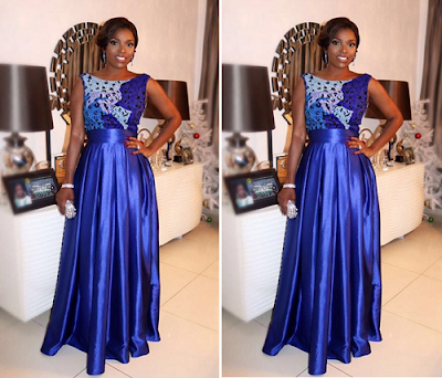 Annie Idibia senator ita giwa 70th birthday photos
