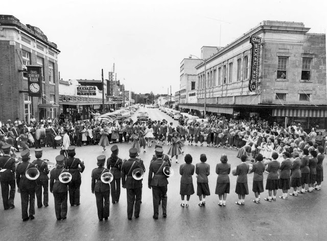 Kerrville Tivy Football Pep Rally late 1950s