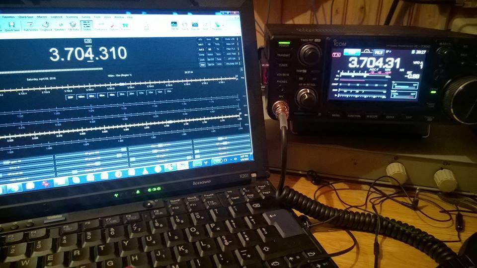 YO3HJV: New ICOM IC-7300 Exhaustive Review