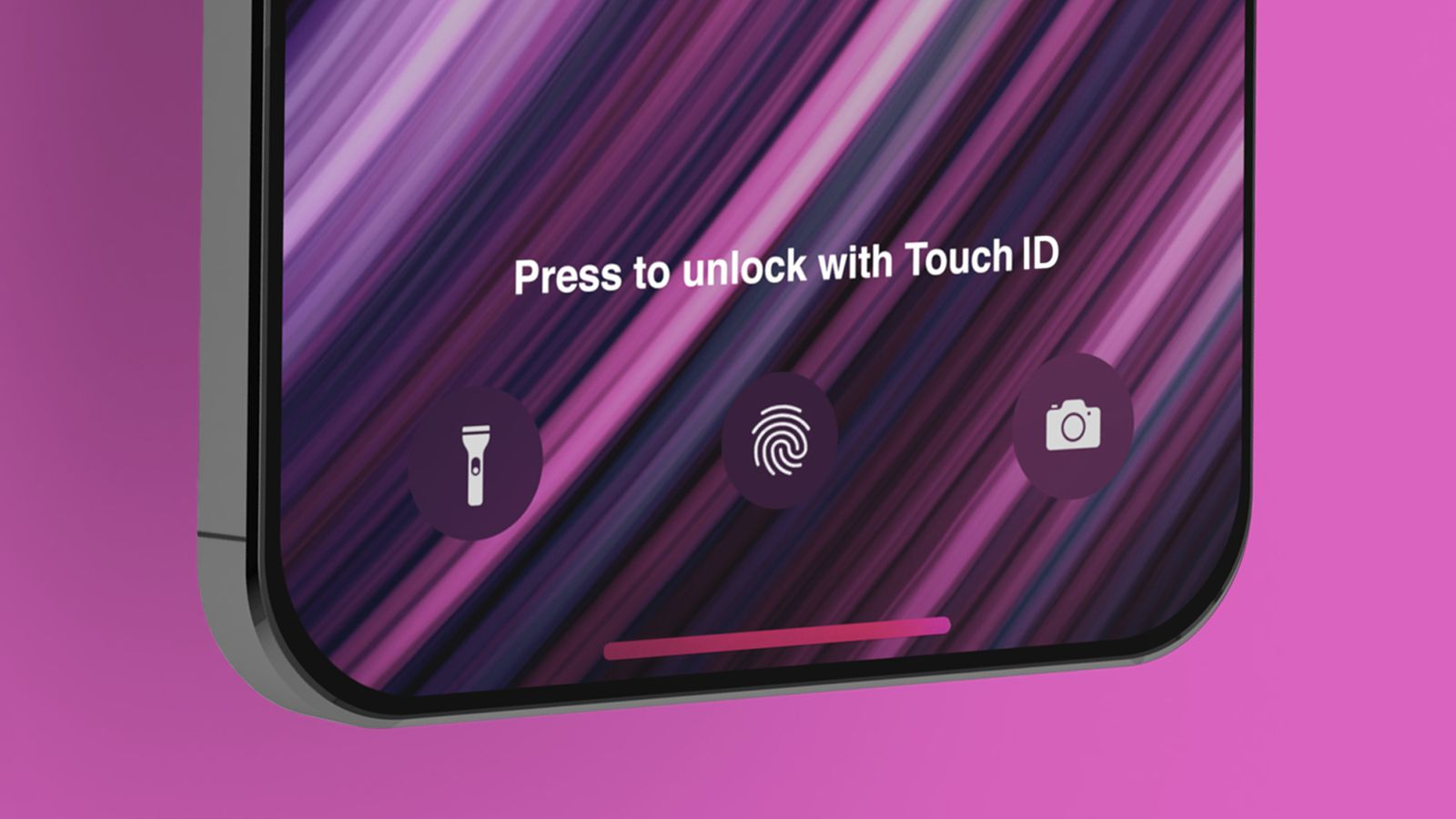 No touch ID on upcoming iPhone 13