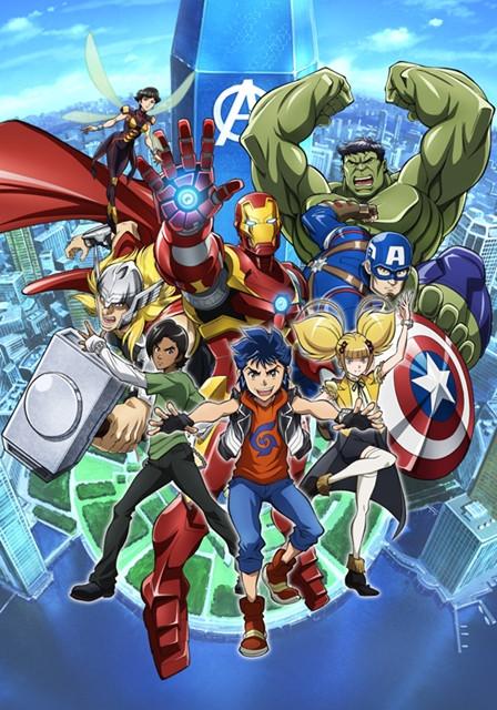 Marvel Future Avengers: Vengadores versión anime
