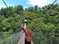 Libur Lebaran ke Jembatan Gantung Situ Gunung Sukabumi Yuk