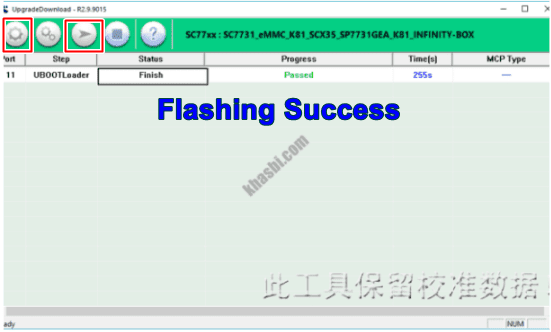 flash evercoss s45 via spd sukses