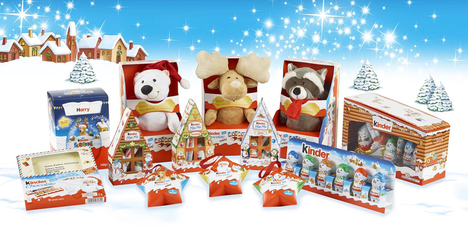 Kinder Seasonal Packaging On Packaging Of The World