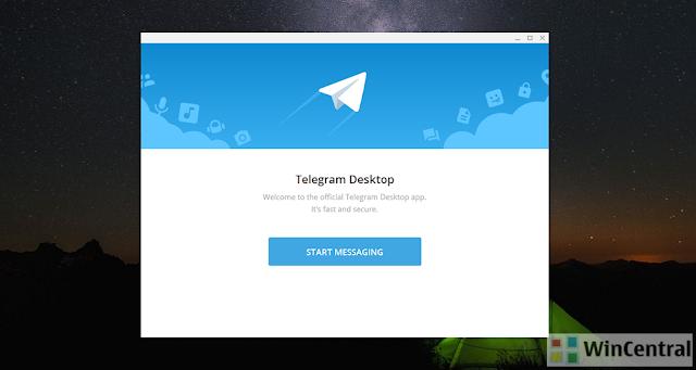 تحميل افضل برنامج شات تعارف صوت وصورة للكمبيوتر Telegram