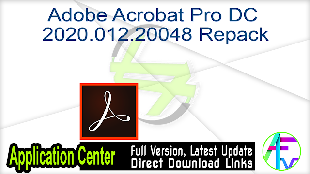 Adobe Acrobat Pro DC 2020.012.20048 Repack