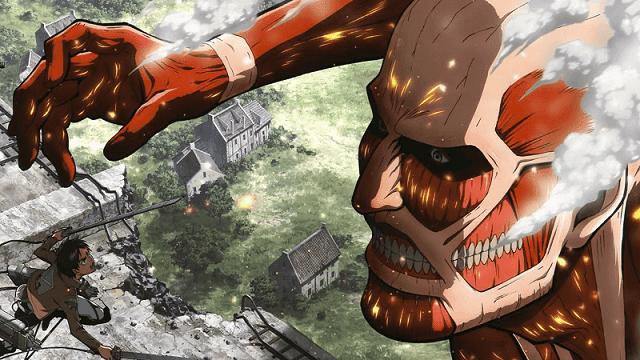 Penyerangan titan kolosal yang berujung pada kematian ibu eren