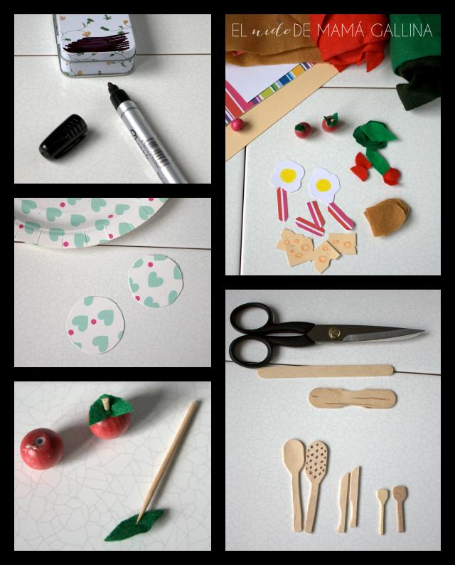 mini cocina de juguete
