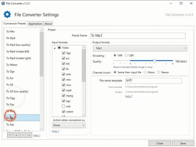 أفضل برنامج محول صيغ مجاني شرح برنامج File Converter كاملا