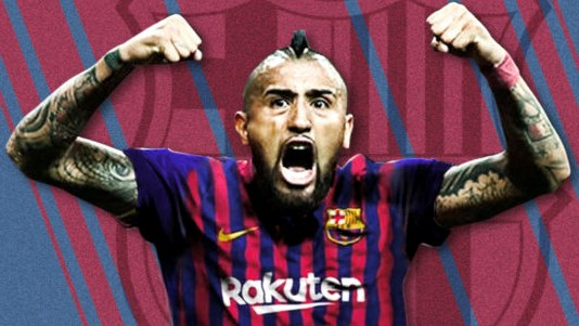 ARTURO VIDAL SET TO SIGN FOR BARCELONA