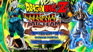 OFICIAL DRAGON BALL TENKAICHI TAG TEAM  MOD COM MENU PERMANENTE [PARA ANDROID E PC PPSSPP]+DOWNLOAD/DESCARGA