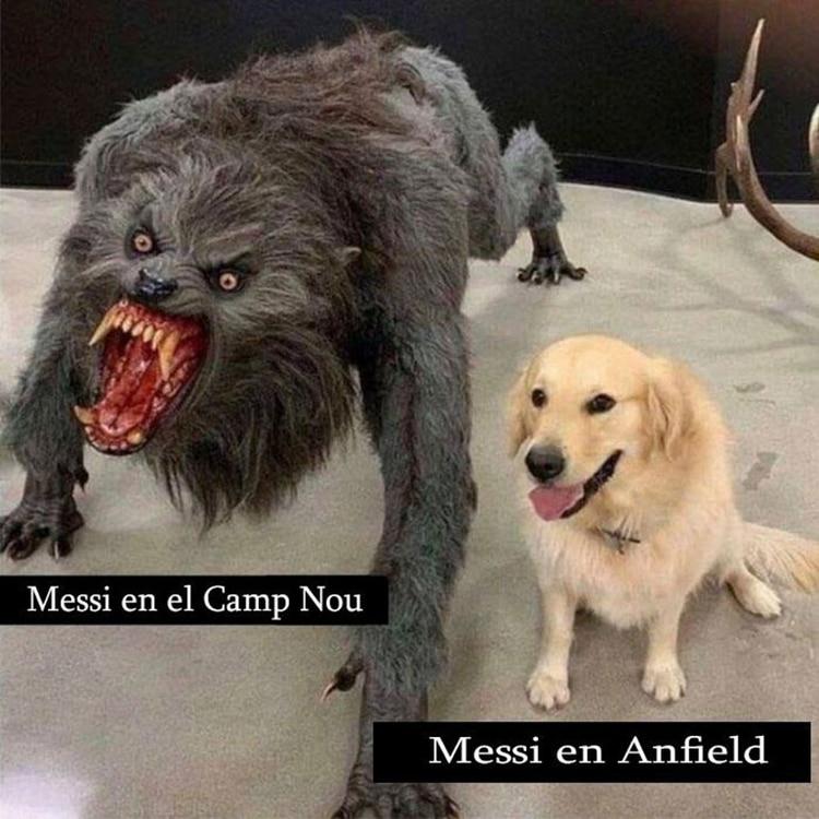 Meme Vignette Divertenti eliminazione Barcellona a Liverpool Foto 6.