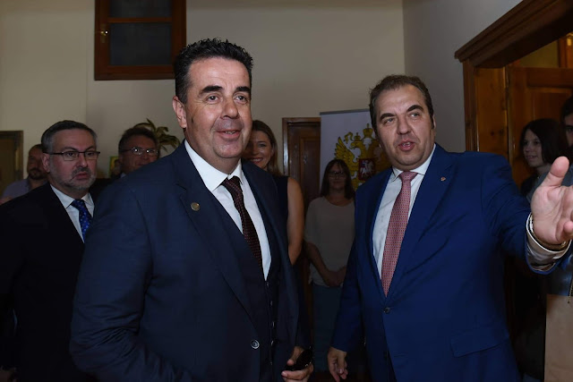 Παρουσία του Δημάρχου Ναυπλιέων τα εγκαίνια του Επίτιμου Ρωσικού Προξενείου στο Ναύπλιο
