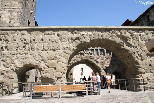 Porta Praetoria una delle porte della città