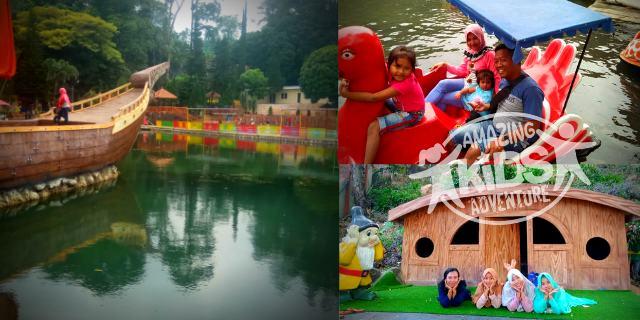 Ubalan Waterpark Pacet, Paket Outbound Anak di Ubalan Pacet