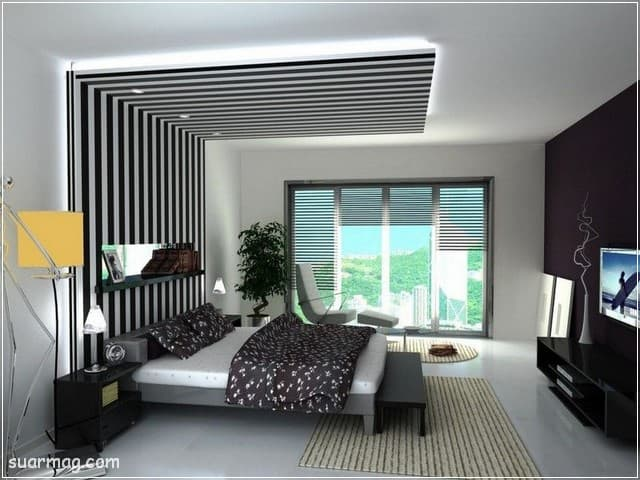 جبس بورد - جبس بورد غرف نوم 4   Gypsum Board - Bedroom Gypsum Board 4