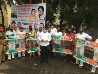 दहिसर के समाजसेवी राम यादव ने रिक्शा चालकों को बांटे सुरक्षा कवच | #NayaSaberaNetwork