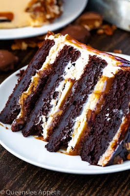 Turtle Chocolate Layer Cake