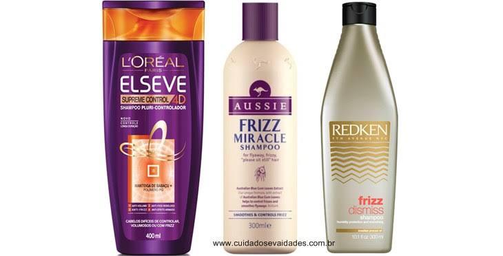 Tratamento para cabelos cacheados ou ondulados com frizz