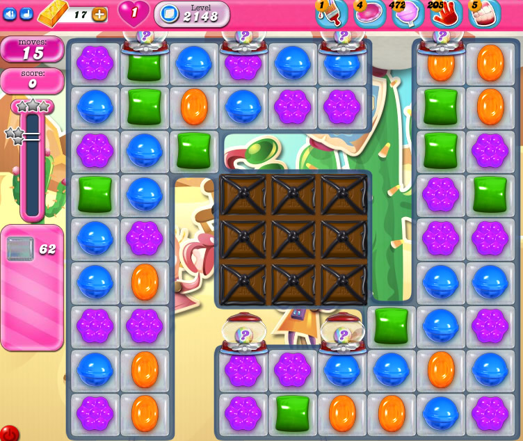 Candy Crush Saga level 2148