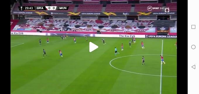 Granada  0:2  Manchester Utd / Europa League