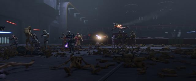 Mace Windu and Obi Wan Kenobi Fight Unfinished Business Star Wars The Clone Wars