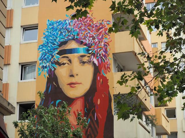 Itinéraire street art Paris 13