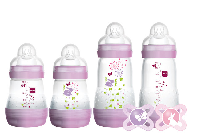 MAM Infant Basics Gift Set and a MAM Holiday Pacifiers