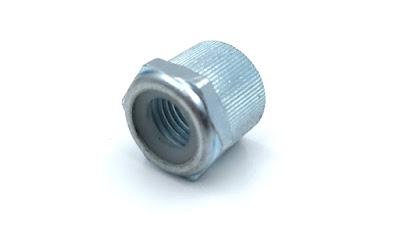 Custom Knurled Nylon Insert Lock Nuts