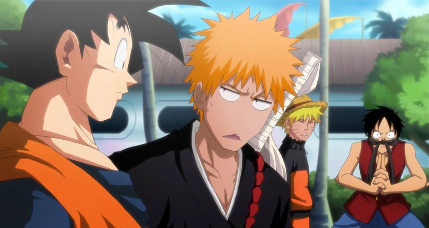 Naruto and bleach porn
