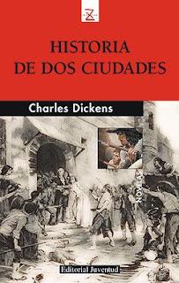 Portada del libro historia de dos ciudades para descargar en pdf gratis