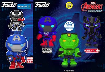 The Avengers Mech Strike Pop! Marvel Vinyl Figures by Funko