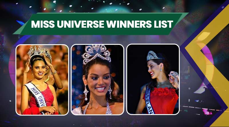 List of Miss Universe Winner from 1952 to 2021