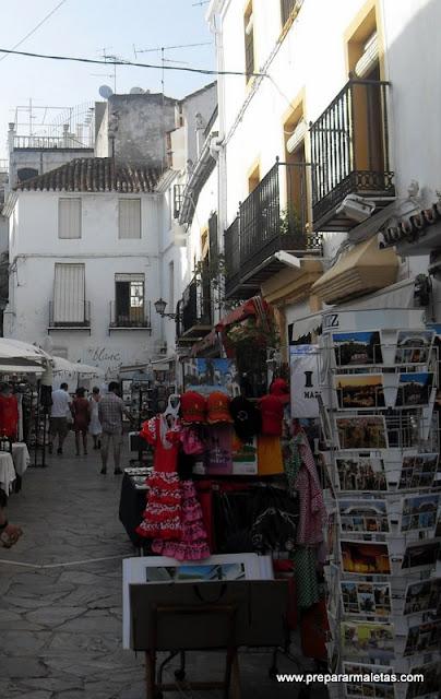 calles de tiendas en Marbella