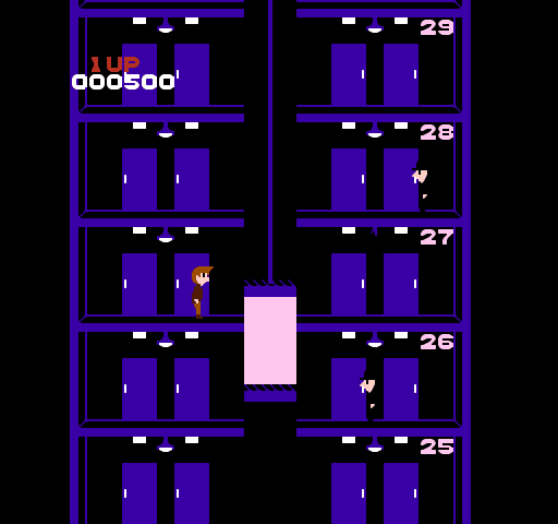 ilustrasi game elevator