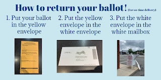 Franklin voters can return their ballots at the Municipal Bldg