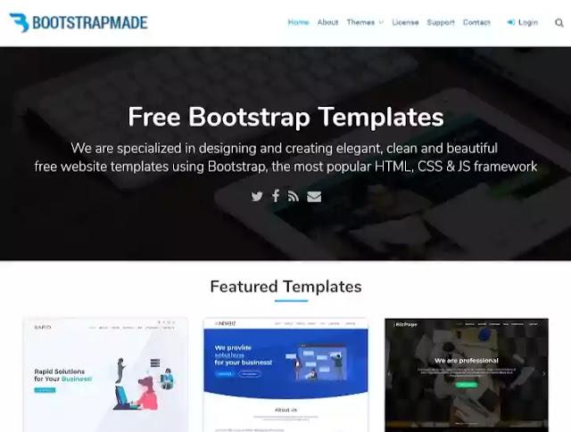 free responsive templates.