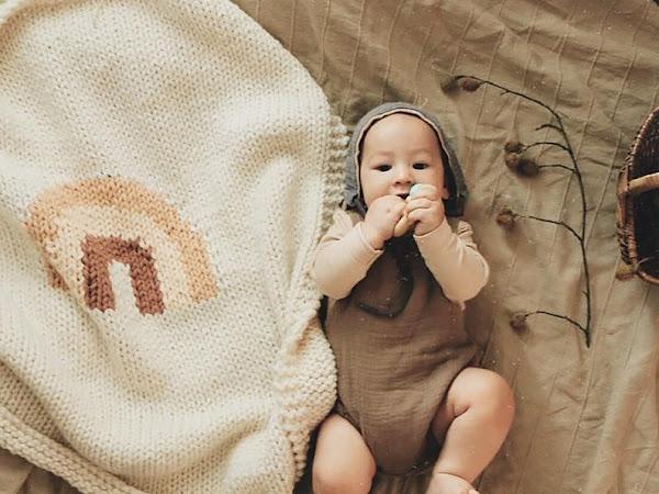 The Rainbow Baby Blanket